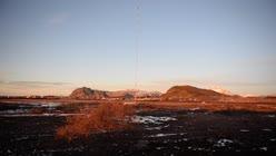 Riving av Loran-masta i Bø